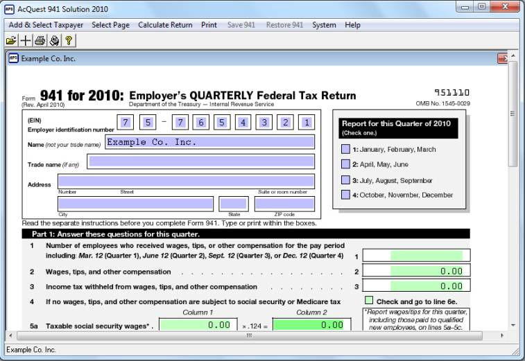 AcQuest 941 Solution 2011 Download
