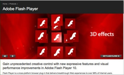 Adobe Flash Player 11.3.300.250 Be Download