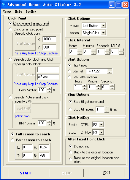 Advanced Mouse Auto Clicker Download