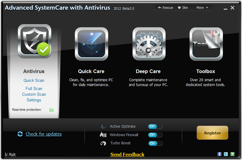 Advanced SystemCare with Antivirus Download