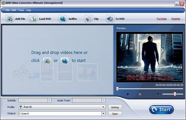 AHD DVD to Android Download