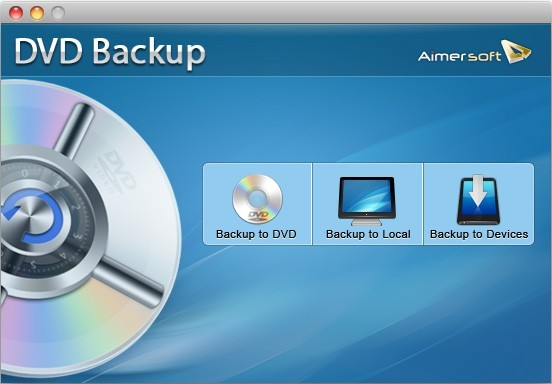 Aimersoft DVD Backup for Mac Download