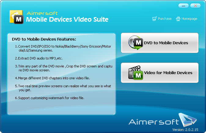 Aimersoft Mobile Devices Video Suite Download