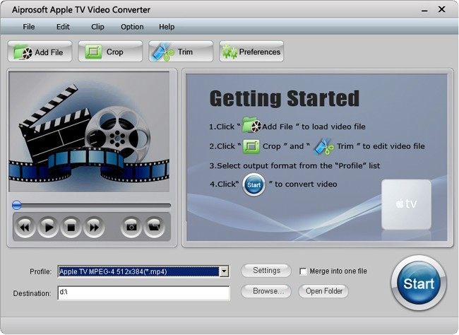 Aiprosoft Apple TV Video Converter Download