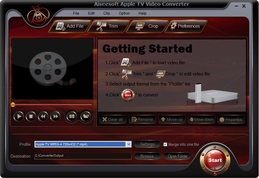 Aiseesoft Apple TV Video Converter Download
