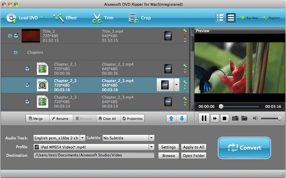 Aiseesoft DVD Ripper for Mac Download