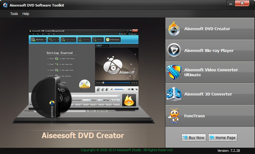 Aiseesoft DVD Software Toolkit Download