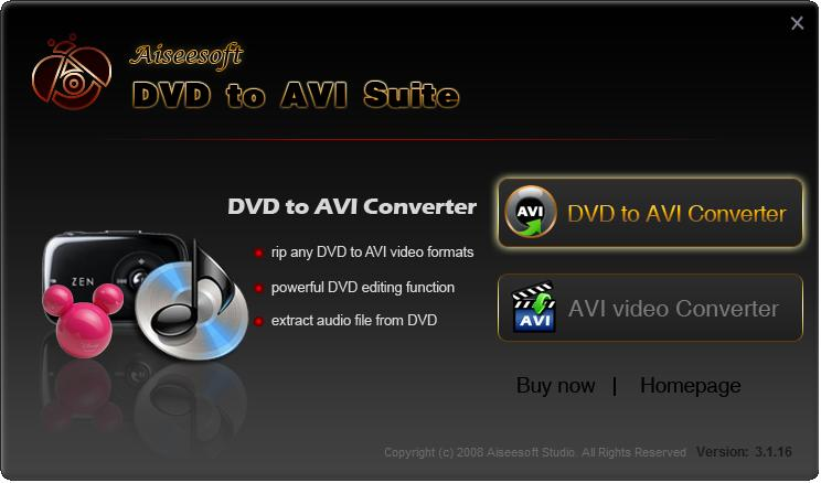 Aiseesoft DVD to AVI Suite Download