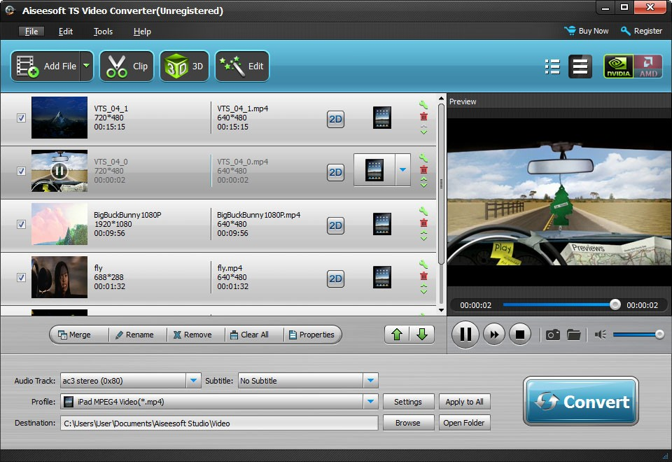 Aiseesoft TS Video Converter Download