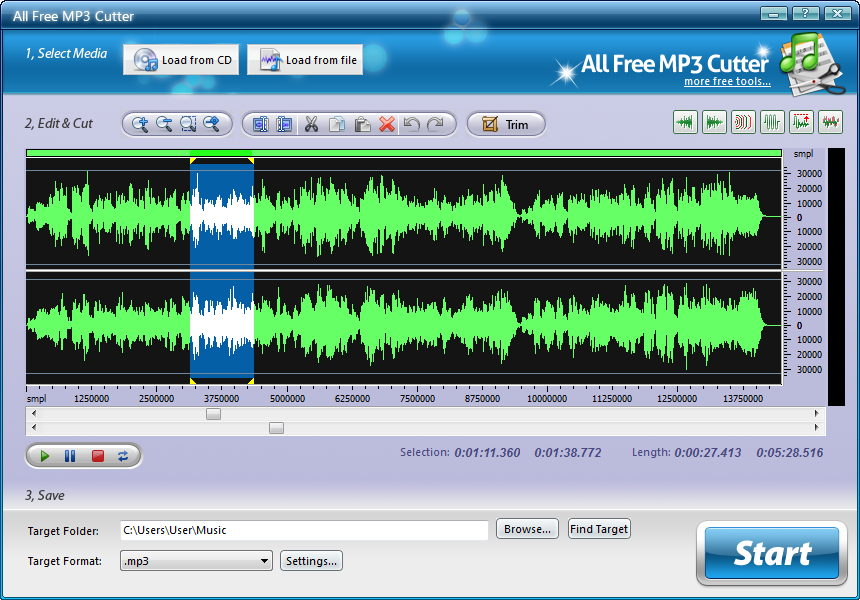 All Free MP3 Cutter Download