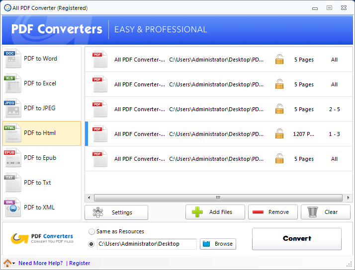 All PDF Converter Download