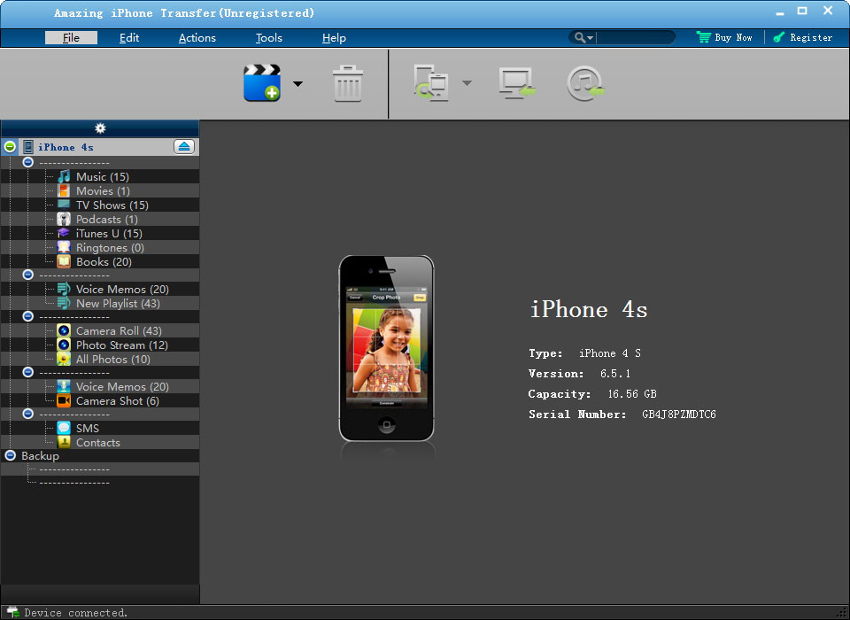 Amazing iPhone Transfer Download