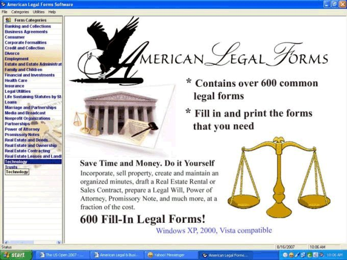 American Legal and Business Forms Download