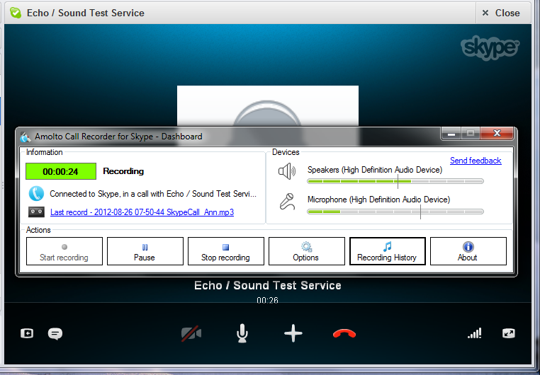 Amolto Call Recorder for Skype Download