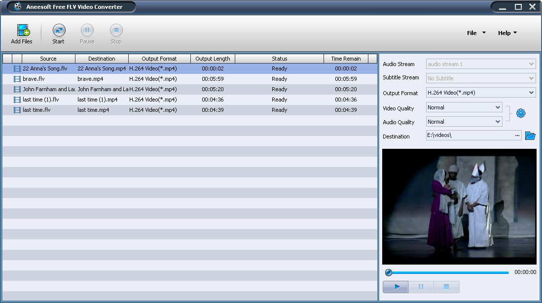 Aneesoft Free FLV Video Converter Download