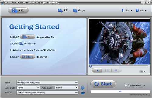 Aneesoft MOV Video Converter Download