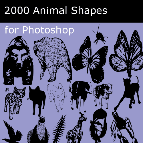 Animal custom shapes collection Download