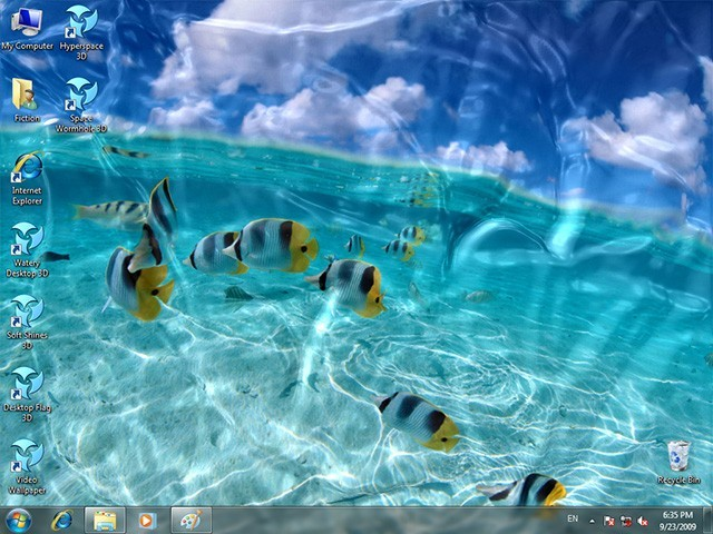 Animated Wallpaper - Watery Desktop 3D Download