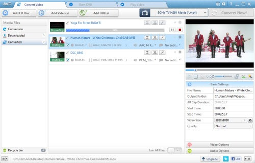 Any Video Converter Freeware Download