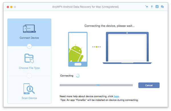 AnyMP4 Android Data Recovery for Mac Download