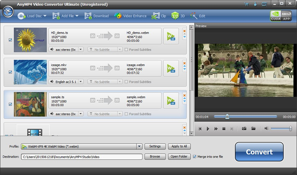 AnyMP4 Video Converter Ultimate Download