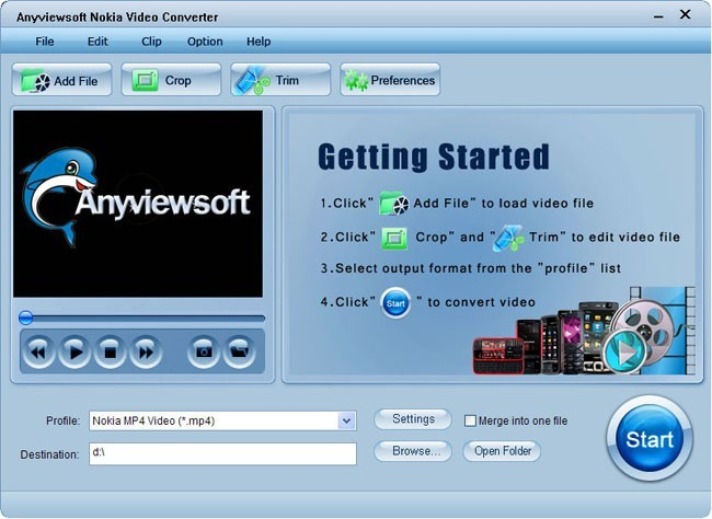 Anyviewsoft Nokia Video Converter Download