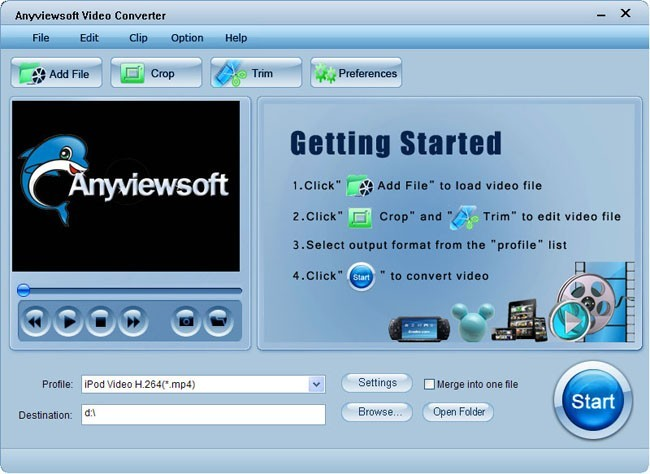 Anyviewsoft Video Converter Download