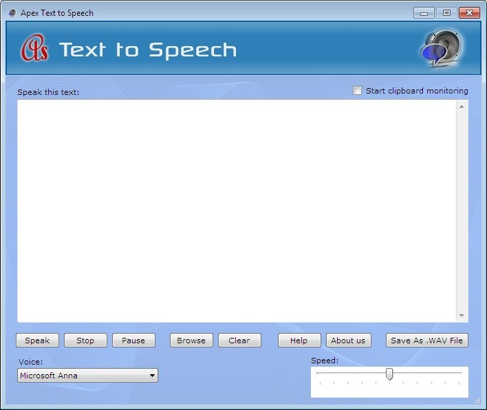 Apex Text to Voice Converter Download