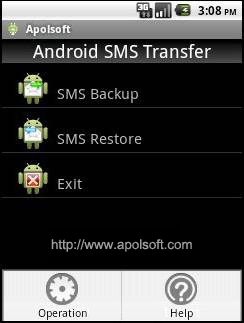 Apolsoft Android SMS Transfer Download
