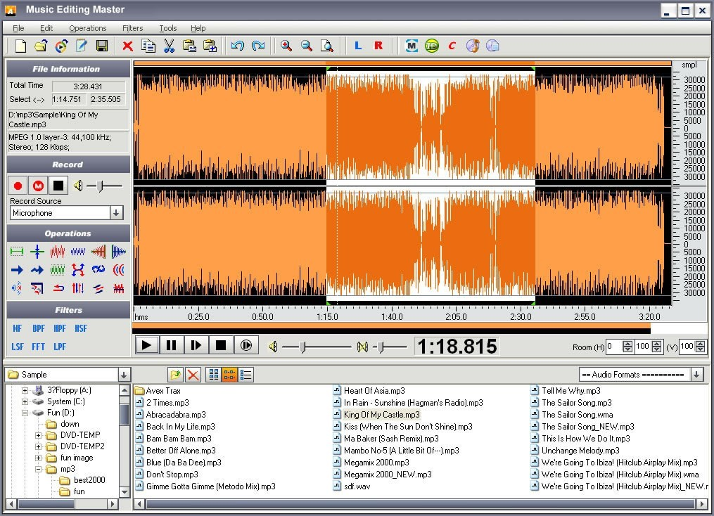 Audio Editor Express Download