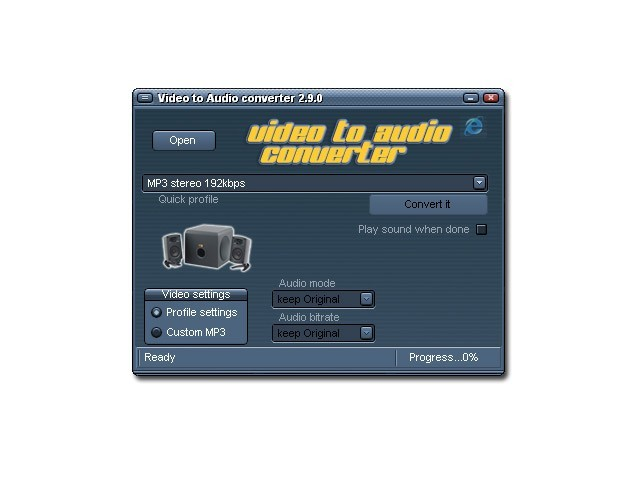 Audio MP3 from Video Converter Download