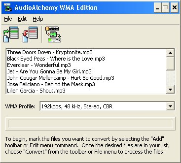 AudioAlchemy WMA Edition Download