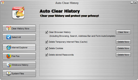 Auto Clear History Download