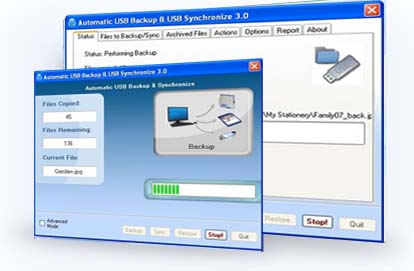 Automatic USB Backup and Synchronize Download