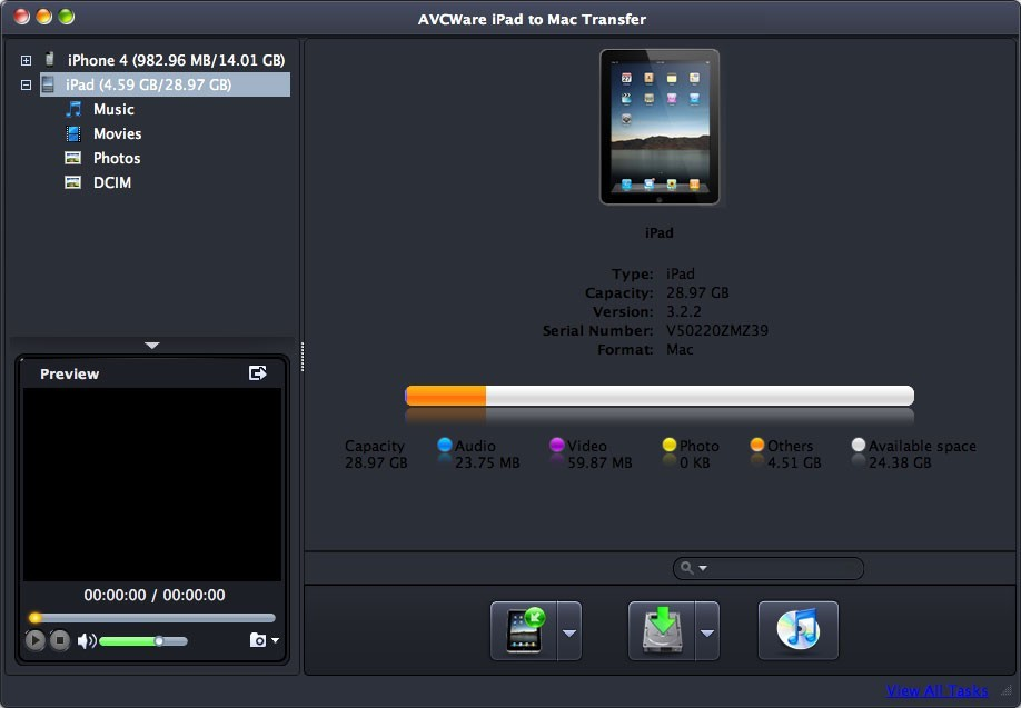 AVCWare iPad to Mac Transfer Download