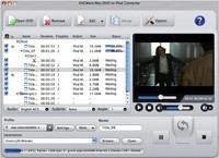 AVCWare Mac DVD to iPod Converter Download