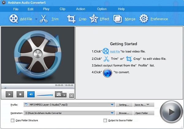 Avdshare Audio Converter Download