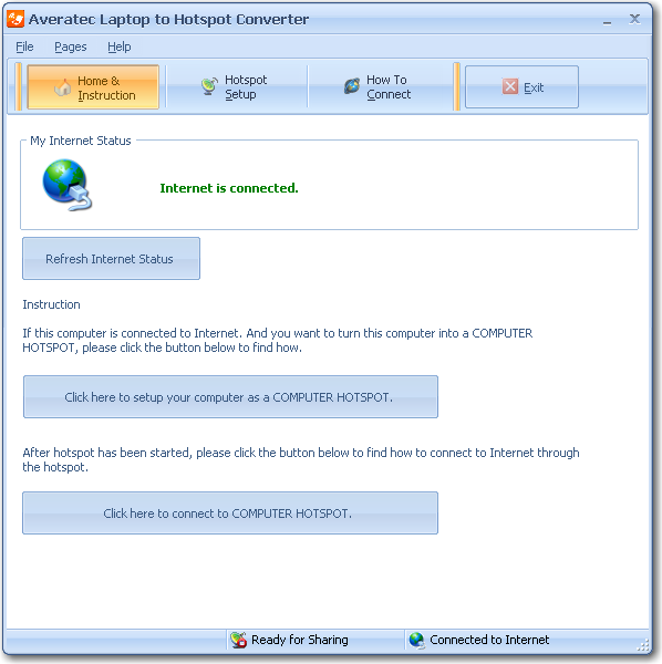 Averatec Laptop to Hotspot Converter Download