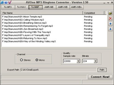AVOne MP3 Ringtone Converter Download