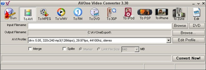 AVOne Video Converter Download