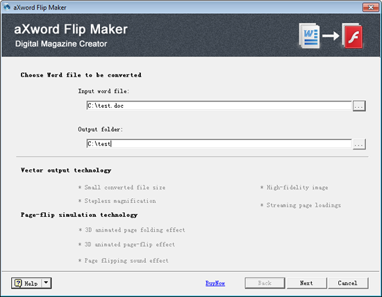 aXword Word to Flash Converter Download