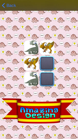 Baby Dino Memory Match - A cute dinossaur memory game Download