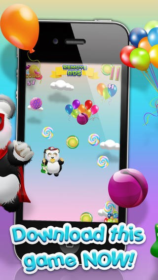 Baby Panda Bears Candy Rain - A Fun Kids Jumping Edition FREE Game! Download