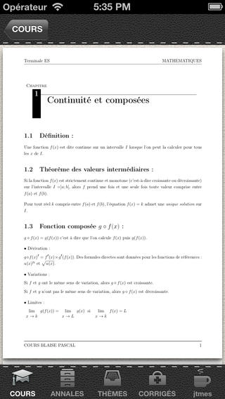 BAC ES Annales Math 2012 Download