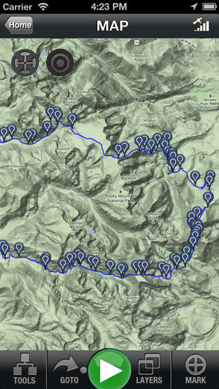 Backpacker GPS Trails Download