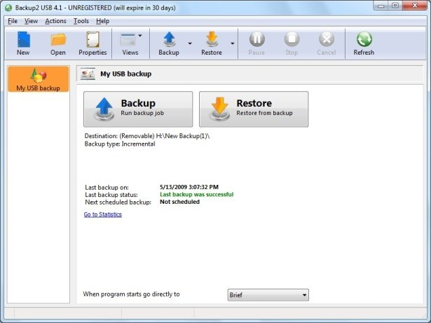 Backup to USB Brandable Backup Software Download