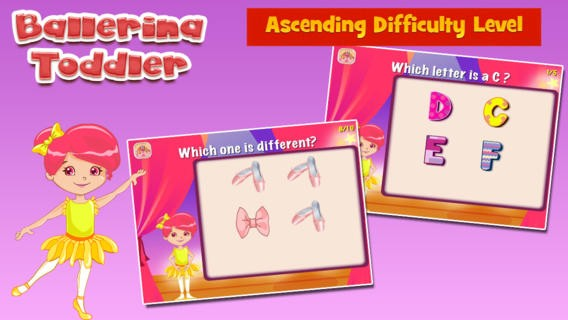 Ballerina Toddler: Educational Games for Kids Download