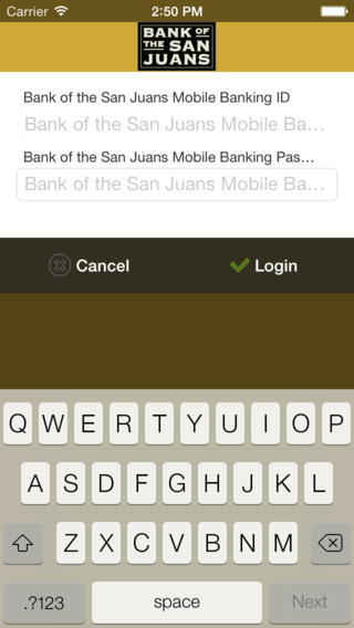 Bank of the San Juans Mobile Banking Download