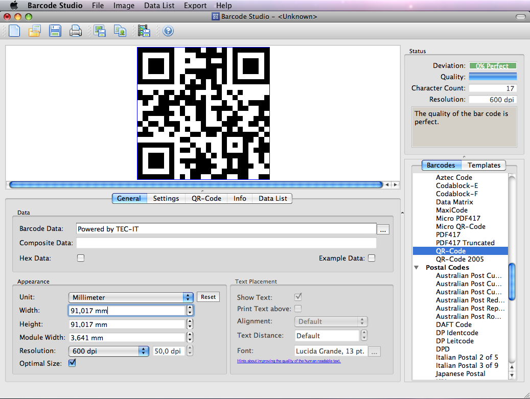 Barcode Creator Software Barcode Studio for Mac Download
