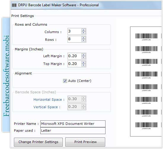 how to create a barcode system